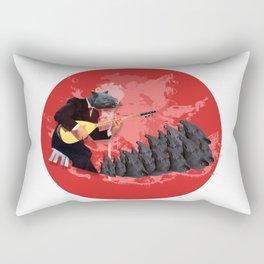 Tapir World's Rectangular Pillow