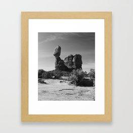 Holding The Balance Framed Art Print