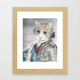King Louis XVI Cat Framed Art Print