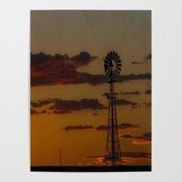 Burns Windmill Poster