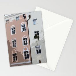 Buildings and Windows Stationery Cards
