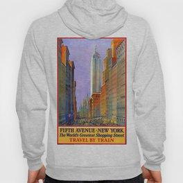 Vintage poster - Fifth Avenue Hoody