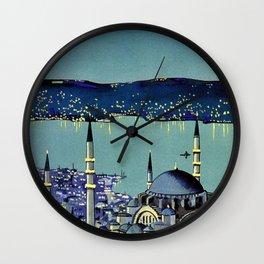 Golden Horn Istanbul Wall Clock