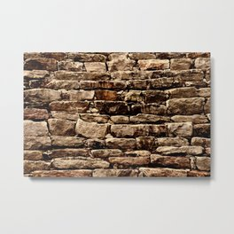 Old Stone Wall #1 Metal Print