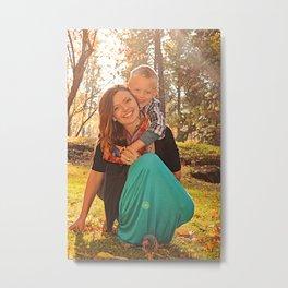 Family Shoot-Bree & Silas5 Metal Print