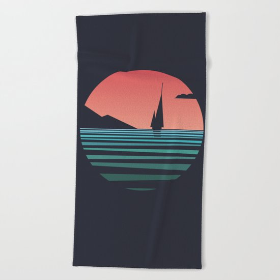 The Ocean /alternate/ Beach Towel
