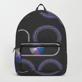 Trans Pride with Oval Backpack