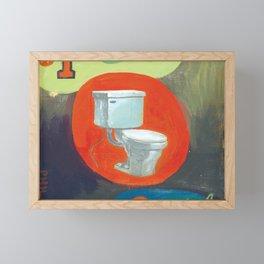 #1 rules - by phil art guy Framed Mini Art Print