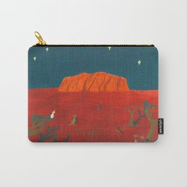 Evening at Uluru Carry-All Pouch