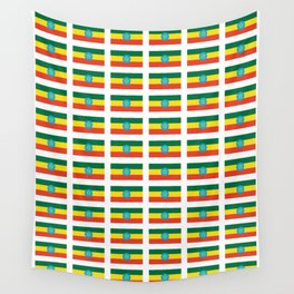 flag of Ethiopia 2-ኢትዮጵያ, የኢትዮጵያ ,Amharic,  Ethiopian, Addis Ababa. Wall Tapestry