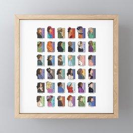 She Series - Real Women Collage 1-4 Framed Mini Art Print