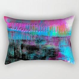 Pink line S43 Rectangular Pillow
