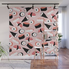 Sushi Party Wall Mural