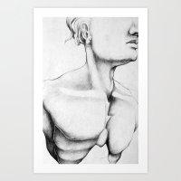 bondage Art Prints featuring Bondage by Michael Federman