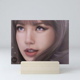 Glitter - Lisa Mini Art Print