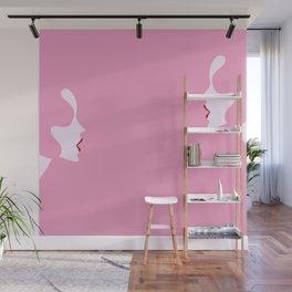 Je vois la vie en rose Wall Mural