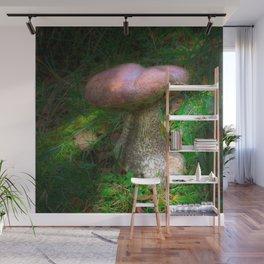 Penny Bun Fairy Mushroom Wall Mural