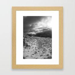 Snow Scene 2 Framed Art Print