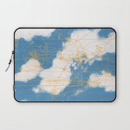 Cloud Chamber Laptop Sleeve