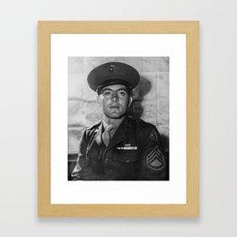 John Basilone - World War 2 - 1943 Framed Art Print