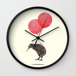 Kiwi Bird Can Fly Wall Clock