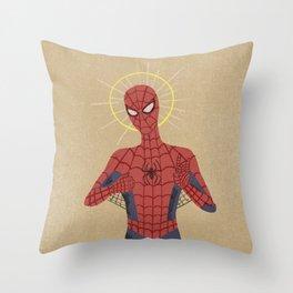 The Gospel of Spider-Man Throw Pillow