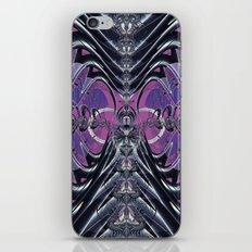 Purple Galaxy iPhone & iPod Skin