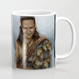 Nasir's Sneaky Smile (Nagron, Spartacus) Color Version Coffee Mug