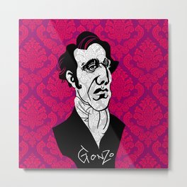 Chilly Gonzales Metal Print