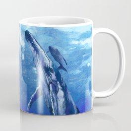 Whale with baby Coffee Mug