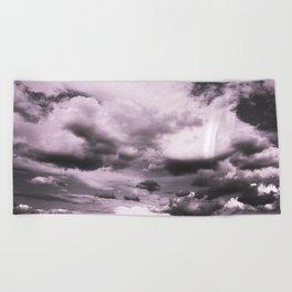 Cloudy Sky #decor #society6 Beach Towel