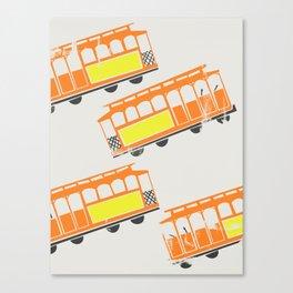 San Francisco Streetcars Canvas Print