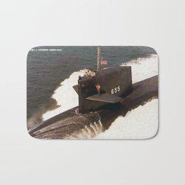 USS HENRY L. STIMSON (SSBN-655) Bath Mat
