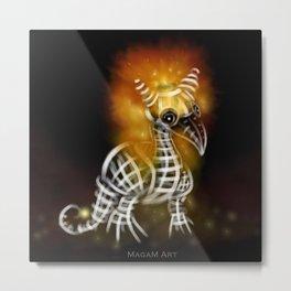 Shea fire Dragemon Metal Print