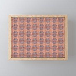 Circles and Stripes Framed Mini Art Print