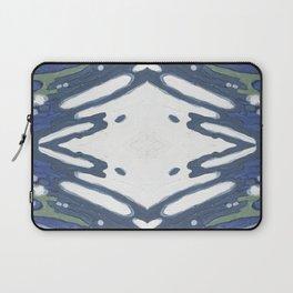 Navy Nautical Diamond Pattern Laptop Sleeve