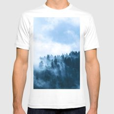 Fog T White MEDIUM Mens Fitted Tee