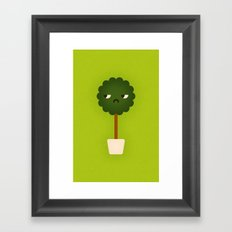 Small Tree Plant Framed Art Print