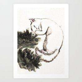 YUKI Art Print