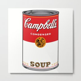 Campbells Soup Metal Print