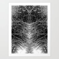 Anything but chaos 1 Art Print