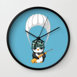 Commando Wall Clock