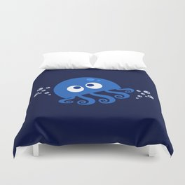 Bubbly Octopus Duvet Cover