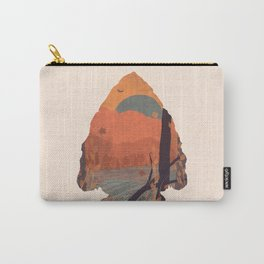 Autumn in the Gorge... - Arrowhead Carry-All Pouch