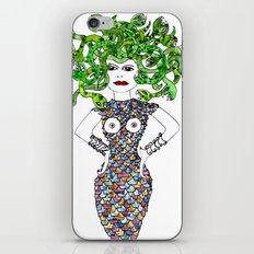 MEDUSA versus BRIGITTE BARDOT iPhone & iPod Skin