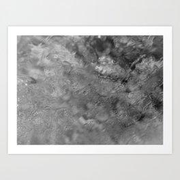 RAIN ART Art Print