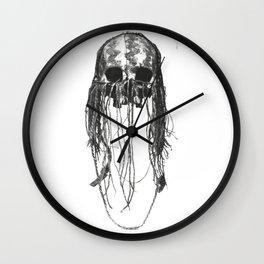 Chaman skull Wall Clock