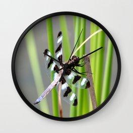 Dragon Fly 2 Wall Clock