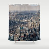 toronto Shower Curtains featuring Toronto by Nick De Clercq