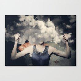 FishGirl Canvas Print